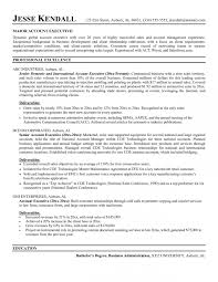 Account Executive Resume Awesome Gross Sales Manager
