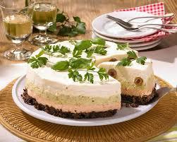 pikante frischkäse torte