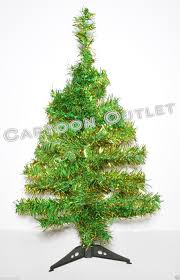 8ft Christmas Tree Ebay by Christmas Tree 2 Ft Tinsel Silver Table Top 60 Tips Retro Style