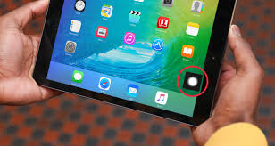 iOS 9 Enable AssistiveTouch to fix a broken iPad home button