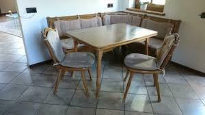 wössner eckbank mit tisch und 2 stühlen