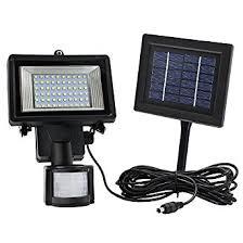 outdoor solar pir motion sensor led security light motion