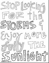 Incredible All Quotes Coloring Pages With Word And