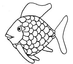 Rainbow Fish Template To Color Coloring Sheets Nice Page Crayola Photo