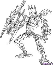 Bionicle Coloring Pages To And Print For Free Lego
