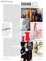 Fashion Magazine Articles Article From The May Issue Of