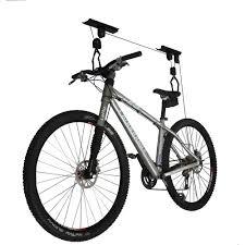 Racor Ceiling Mount Bike Lift by Ceiling Mounted Bike Lift Gadget Flow