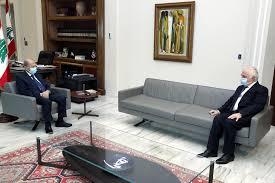 lebanese presidency الرئيس عون استقبل النائب ميشال ضاهر