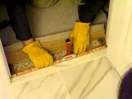 aaron s diy tile guide part 11 of 11 carpet transition