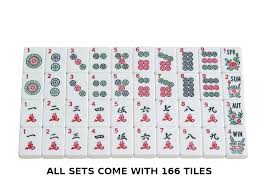 Soft Sided American Mah Jongg Set by Linda Li™ White Tiles