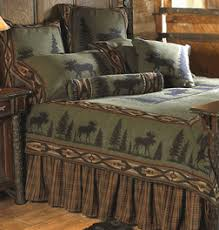 Rustic Bedding Cabin Decor