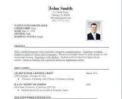 Resume Sample Form Format Downloads How To Download For Experienced