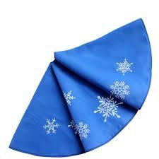 72 Inch Christmas Tree Skirts by Christmas Tree Skirt Blue Christmas Lights Decoration