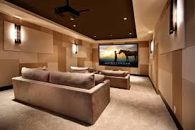 minimalist home theater decorating ideas home theater contemporary