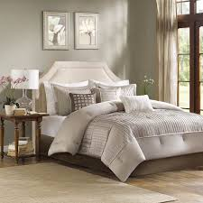 shop madison park trinity taupe bed sets the home decorating company