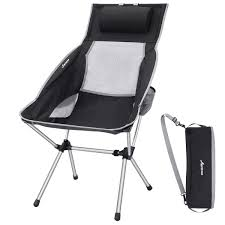MOVTOTOP Camping Chair With Adjustable Pillow, Lightweight Folding Camping  Chair, Outdoor Compact Chairs With High Backrest And Carry Bag For Travel,  ... Coreequipment Folding Camping Chair Reviews Wayfair Ihambing Ang Pinakabagong Wfgo Ultralight Foldable Camp Outwell Angela Black 2 X Blue Folding Camping Chair Lweight Portable Festival Fishing Outdoor Red White And Blue Steel Texas Flag Bag Camo Version Alps Mountaeering Oversized 91846 Quik Gray Heavy Duty Patio Armchair Outlander By Pnic Time Ozark Trail Basic Mesh With Cup Holder Zanlure 600d Oxford Ultralight Portable Outdoor Fishing Bbq Seat Revolution Sienna