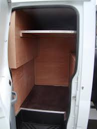 Crew Cab Conversion Van Tool Storage 1