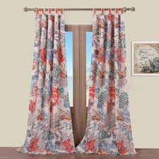 Cherry Blossom Curtain Panels by Panels Cape May Linen