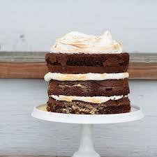 Smores Layer Cake Recipe