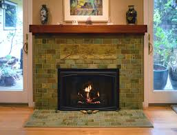 Batchelder Tile Fireplace Surround by Fireplaces U2014 Pasadena Craftsman Tile