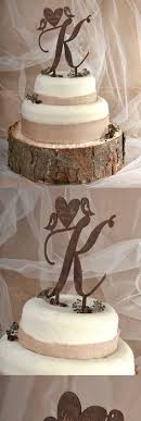 Wooden Wedding Cake Topper Countrywedding Rustic Wood