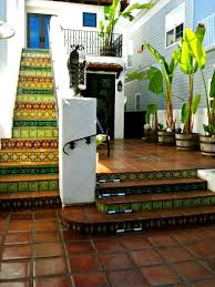 design decorating eclectic patio cement tile for rooftop deck
