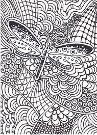 Stylish Inspiration Ideas Zentangle Coloring Pages Page