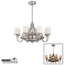 5 unique shabby chic ceiling fan chandeliers advanced ceiling