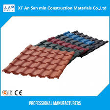 synthetic roof tiles light weight roofing materials