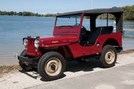 About Willys Vehicles - CJ-3A