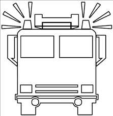 Fire Truck Clipart Black And White Free 4 - Cliparting.com