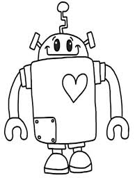Fresh Robot Coloring Page 30 About Remodel Pages For Adults With