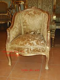 louis xvi chair antique louis xv style bergere in gold color made of beechwood louis xv