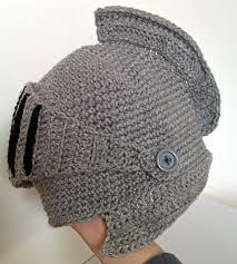 DIY Gorro Armadura Crochet