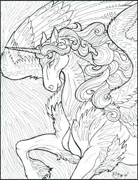 Unicorn Drawing Pages Cute Coloring As Well Hard Images Inspirational