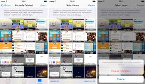 Take this extra step after deleting items in s for iPhone