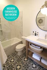 55 Cozy Small Bathroom Ideas For Your Remodel Remodelaholic Get This Look 5 Modern Farmhouse Bathroom