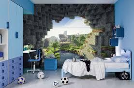 minecraft wall murals zimmer minecraft schlafzimmer