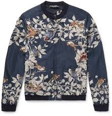 the bomber jacket has casual connotations but this italian made