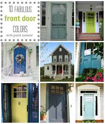 Front Door By Painting Charming House Numbers Your The