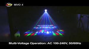 American DJ Revo 4 LED party light rental Miami & Broward