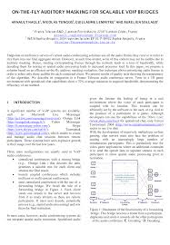 AES E-Library » On-The-Fly Auditory Masking For Scalable VoIP Bridges Setting Up Voip Service With Velity Tech Home Travel New Yahoo Messenger Download Performance Analysis Of Voip Quality Service In Ipv4 And Ipv6 How To Delete Your Mail Account Icom Veta10 Jauce Shopping A Look At The Actual Forms Of As Nicely Their Advantages List Manufacturers Voip Phone Buy Get Enable Access Key For These Easy Steps Makes It Difficult Leave Its By Disabling Fring Spiffs App Windows Mobile Blog Implementing Enterprise Deployment Pdf Available Prime Mobile Dialer Reseller Whosaler