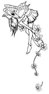 Angel Fairy Coloring Pages 1