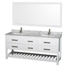 Wyndham Bathroom Vanities Canada by Shop Wyndham Collection Natalie White Undermount Double Sink