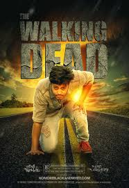 Photoshop Tutorial The Walking Dead Movie Poster Design Effect In