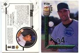 The Upper Deck Company Llc Linkedin by Lot Detail Nolan Ryan 1994 Signature Rookies Autograph Card