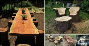 Log Furniture Tutorial