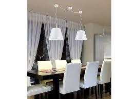 stylishe led hängele für über esstisch esszimmerleuchten hängend weiß silber yatego