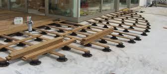plot reglable pour terrasse bois plots pvc réglables terrasse bois