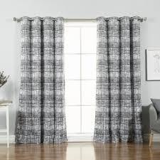 check plaid curtains drapes you ll love wayfair